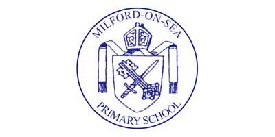 Olivia Inspires Milford On Sea Primary School Logo