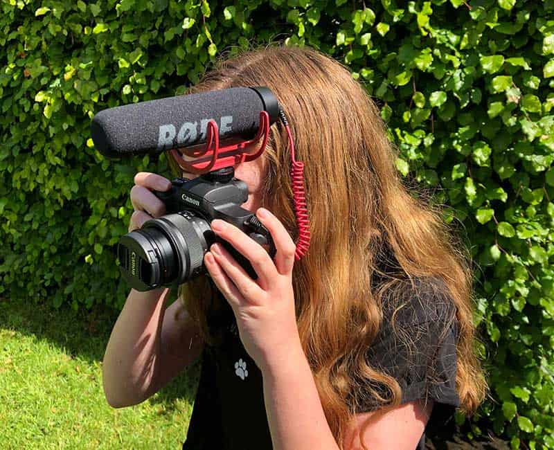 Olivia Inspires Puts A Smile On The Face Of Young Photographer
